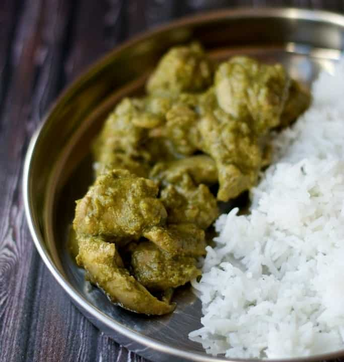 If you are tired of making chicken curry the same old way, try making Dhania (cilantro) chicken. A must make recipe for all those who love the taste of Cilantro (Dhania) leaves!