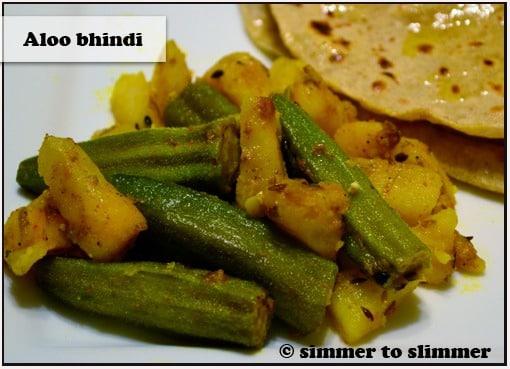 Aloo Bhindi (Okra and Potatoes)