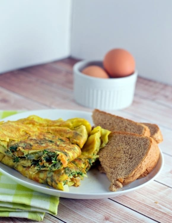 Here's an easy-to-follow Omelette recipe from Simmer to Slimmer to make the perfect omelettes every time