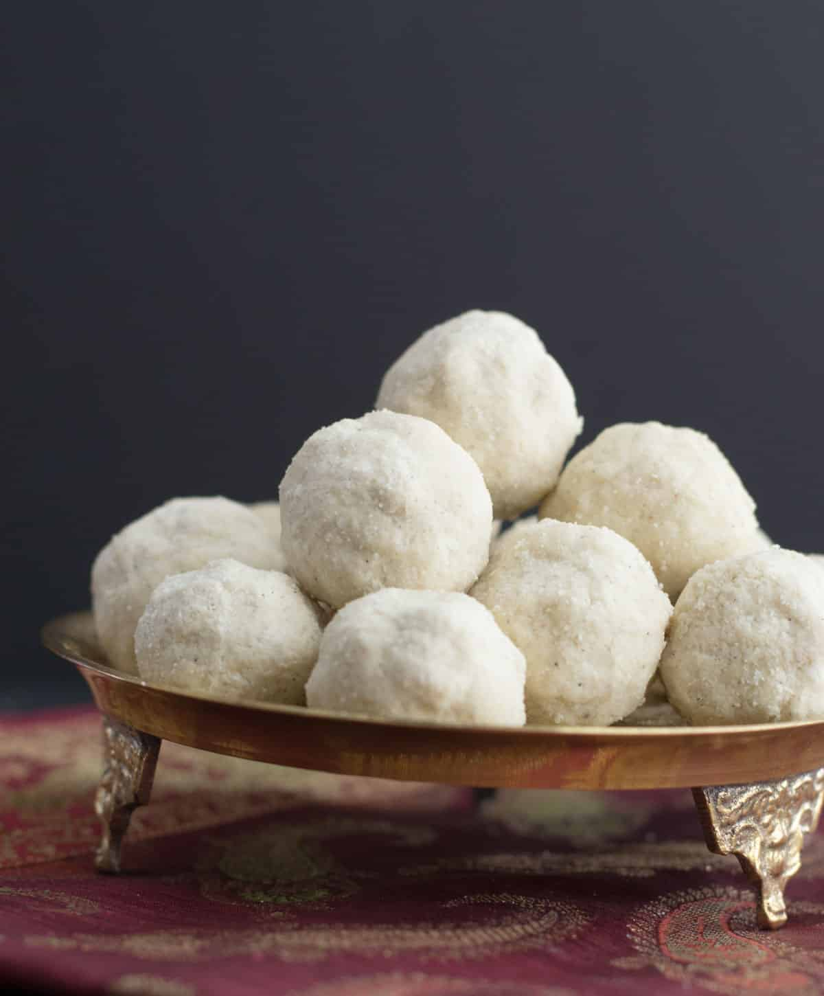 Follow this recipe to make crumbly, melt in the mouth Rava ladoos. (And the best part - you don't have to shape these into balls when it is piping hot!)