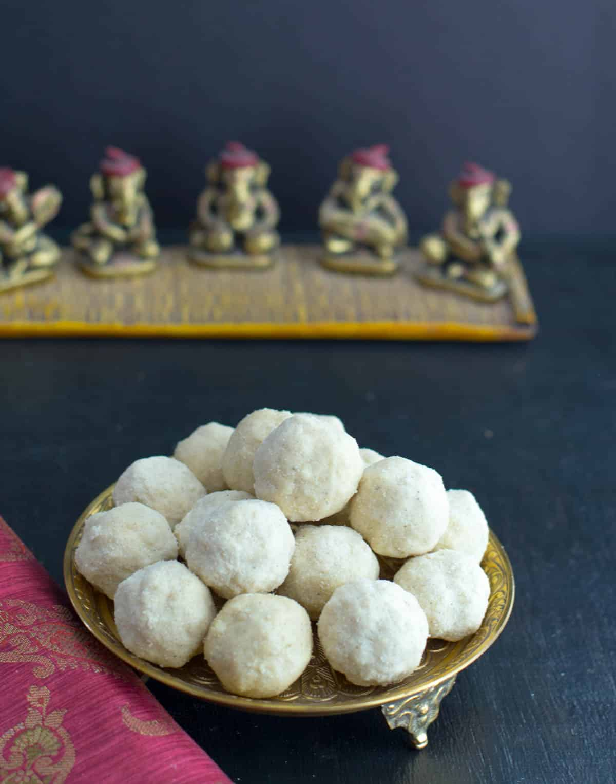 Follow this video recipe to make crumbly, melt in the mouth Rava ladoos. (And the best part - you don't need shape these into balls when it is piping hot!)