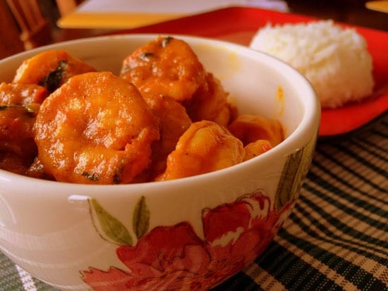 Shrimp curry / Prawn curry