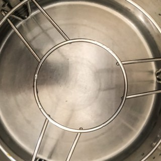 Add a cup of water in the Instant Pot and place a trivet on top