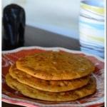 Sweet Cheela / Whole Wheat Pancakes