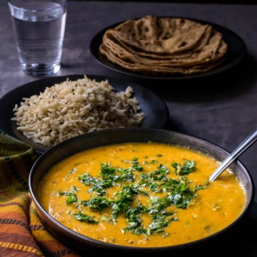 This recipe for Dal Fry is super easy to make and will make even hard to impress guests a believer of your cooking skills.
