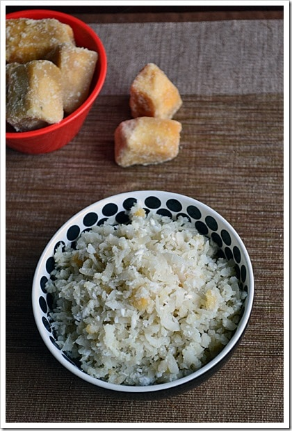 Sweet Beaten Rice