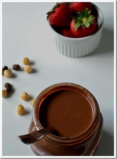 Hazelnut butter spread a.k.a Nutella