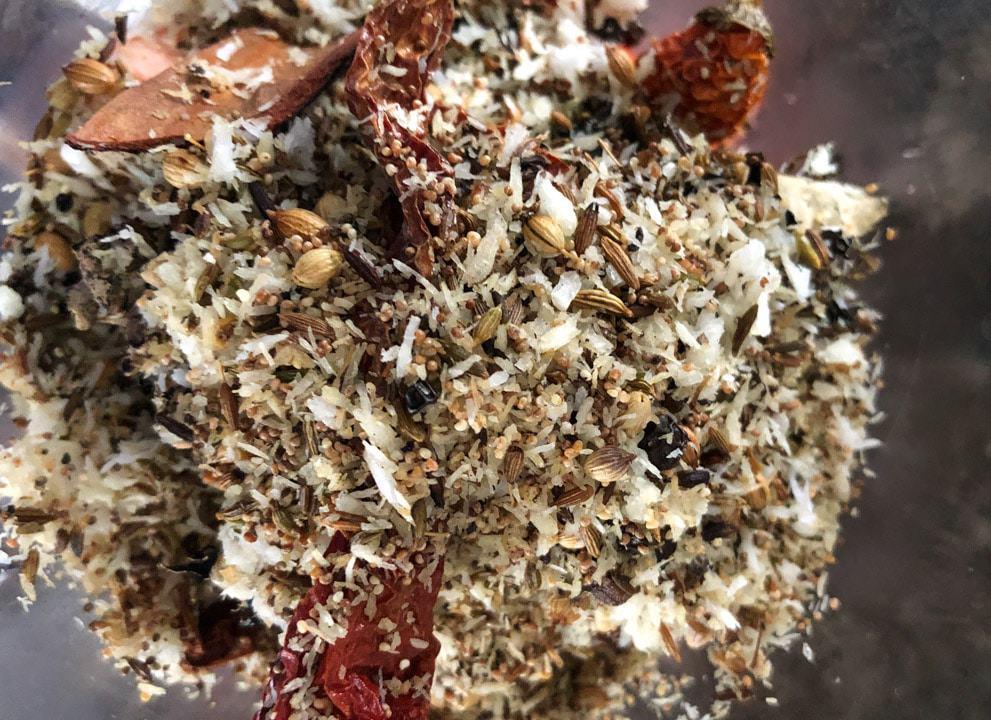 Roasted Chettinad masala