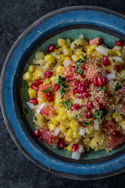 Corn Bhel / Corn Salsa