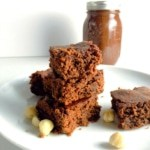 Oats – Hazelnut butter Brownies