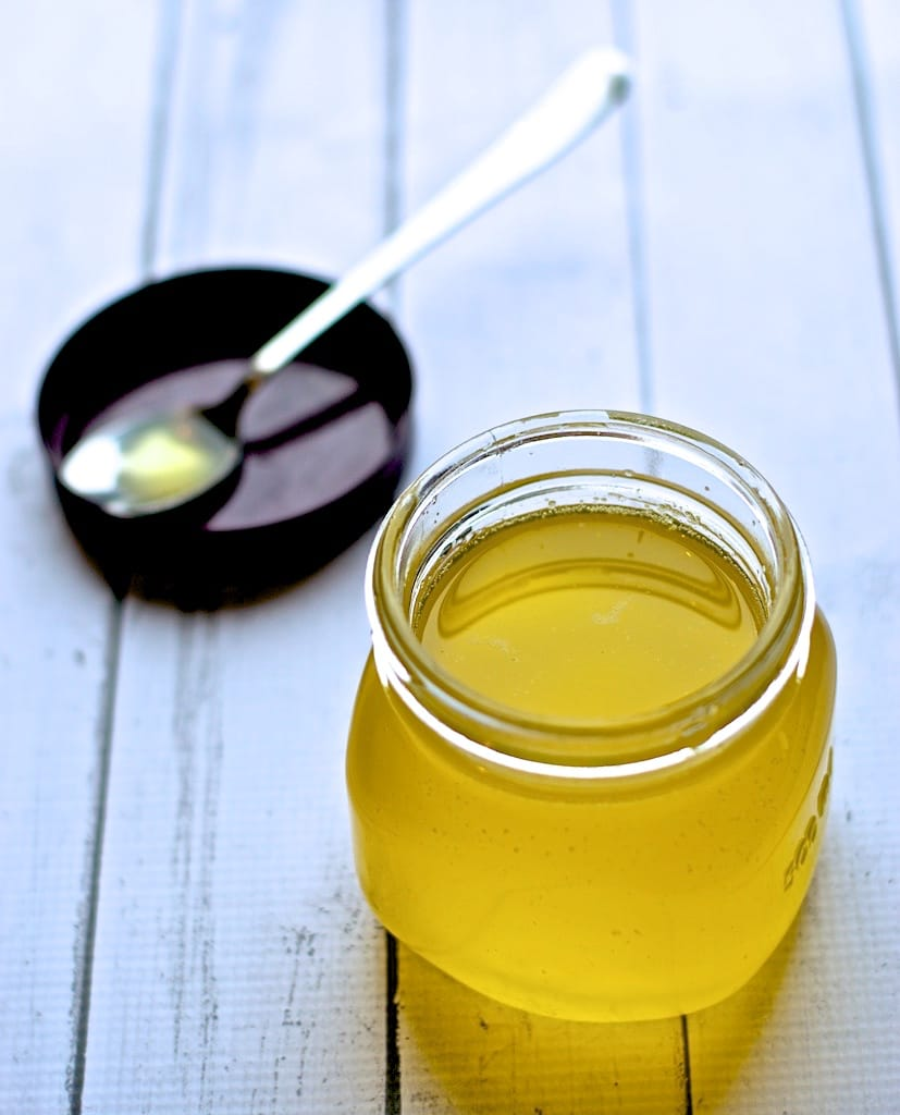 Making Ghee from Butter