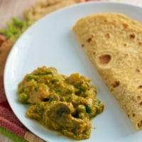 Make restaurant style Matar Mushroom at home!