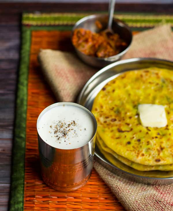 Sweet Lassi is a yogurt based drink which serves as a perfect refreshment during hot summers.