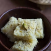 Spend less time in the kitchen and more time with your family this Diwali. Here's a 15-minute recipe to make this soft and delicious Coconut Barfi that your kids will love.