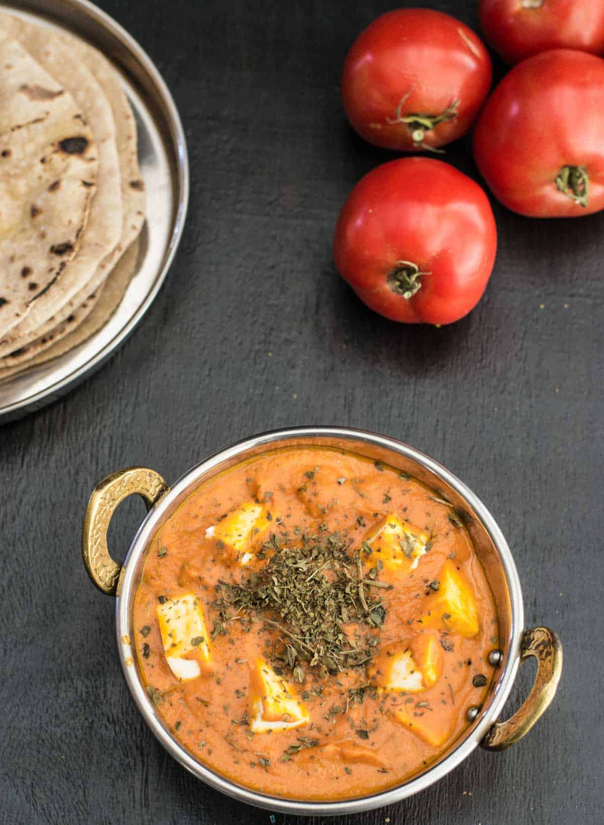Follow this easy and simplified recipe to make Restaurant style Paneer Butter Masala or Paneer Makhani at home!