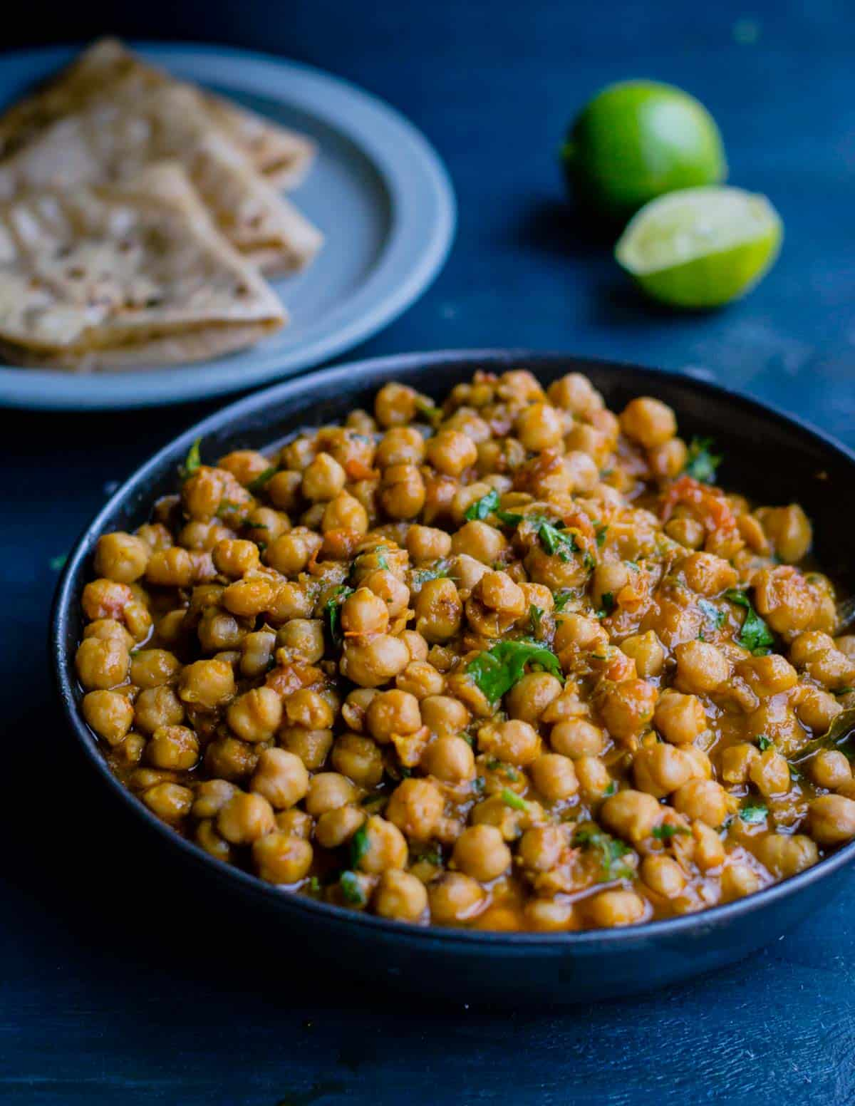 Chana Masala (Indian Chickpea curry) Recipe