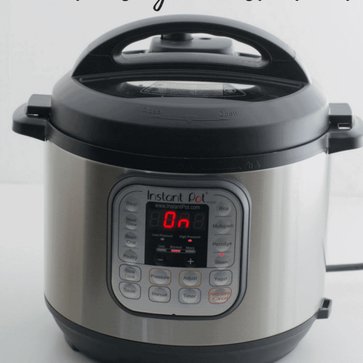 A picture of an Instant Pot