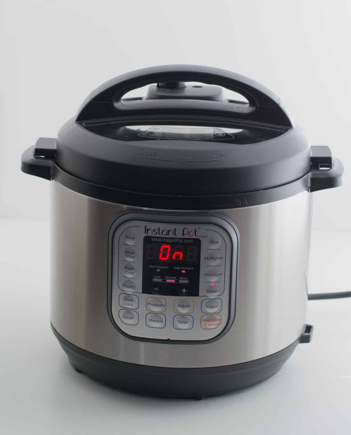 Can't wait to start using your new Instant Pot? Follow this quick start guide to learn how to use your Instant Pot Pressure Cooker to make delicious meals.