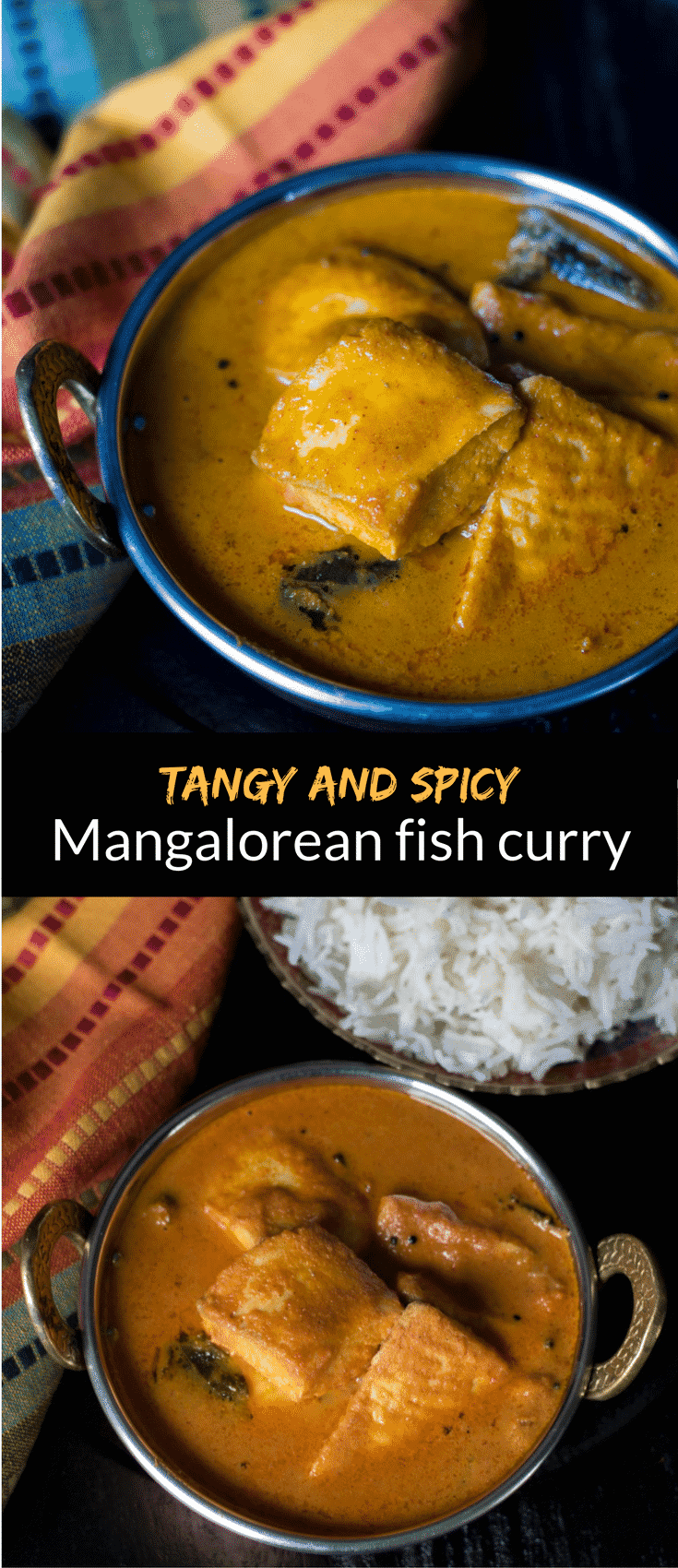 Amaze your family with your culinary skills when you serve them this tangy and flavorful Mangalorean Fish curry or as it's locally called, 'Meen Gassi'.