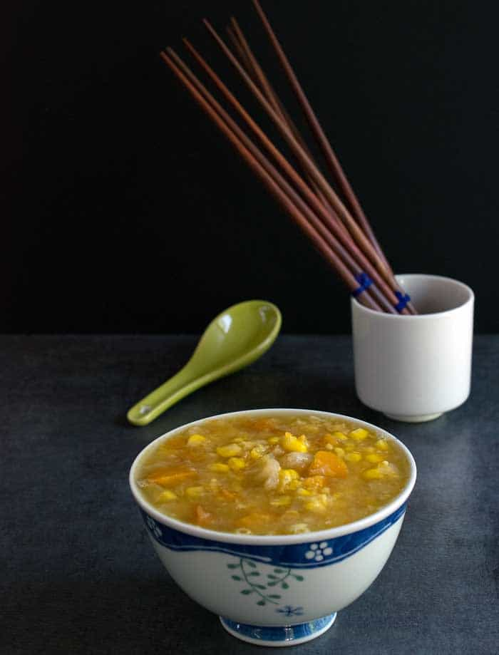 Do you have an Instant Pot? If yes, you will love making this Indo-Chinese corn soup. All you need to do is throw in all the ingredients in the Instant Pot and you are 10 minutes away from this delicious corn soup. Get this recipe today!