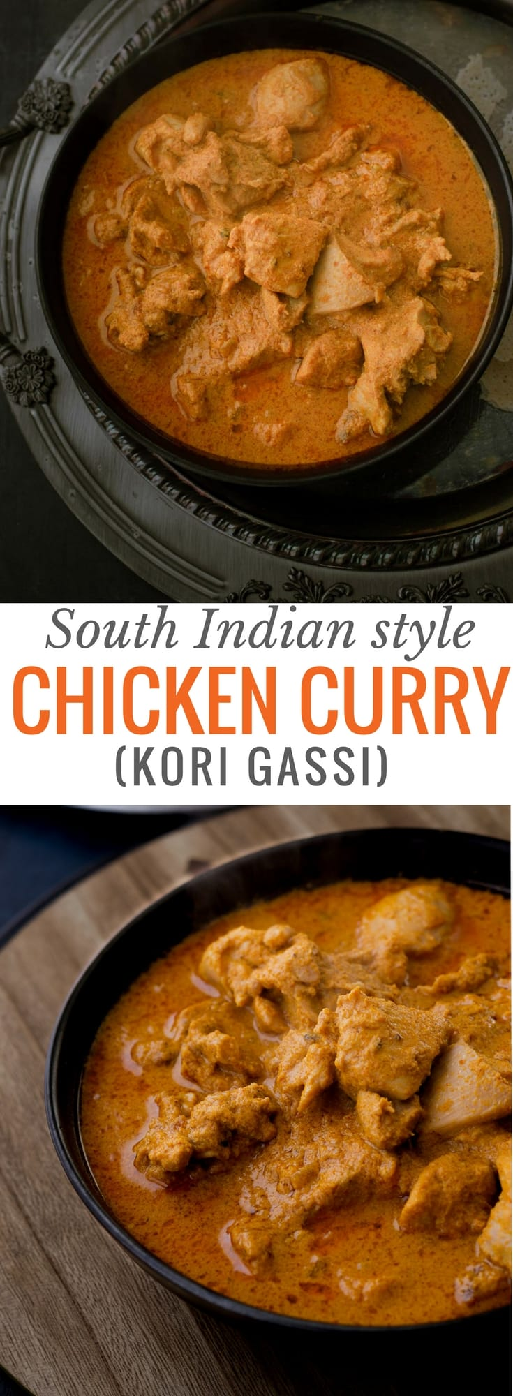 Mangalorean chicken curry or Kori Gassi is a chicken curry like no other. Thesignature dish of the folks hailing from bunt community, this fiery red chicken curry combines the mild sweetness of coconut with a medley of spices to create a complexly flavored curry that is a treat to your senses.