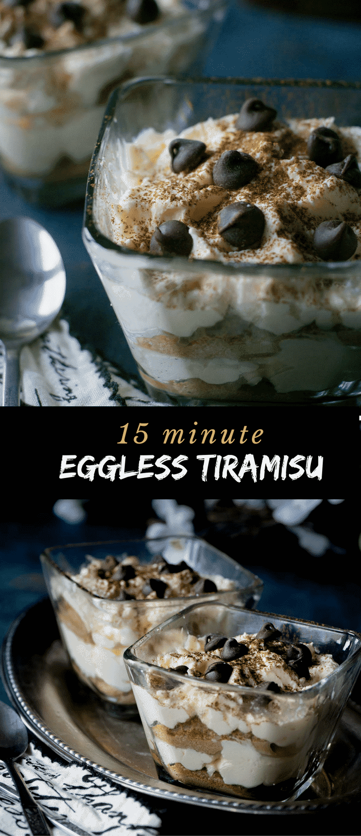 You'll enjoy making this Tiramisu without raw eggs since 15 minutes is all it takes.