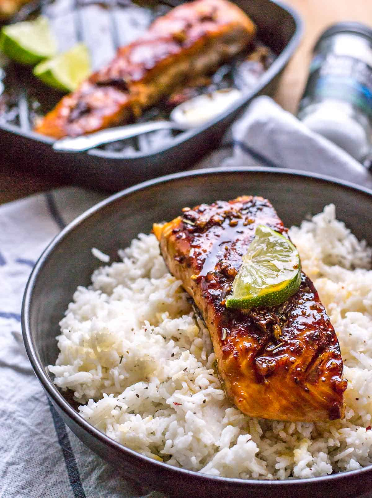This 15-minute grilled honey garlic salmon is perfect for days when you crave a fancy meal but don't want to pay for it or spend hours making it. It is so finger-licking good that you'll imagine you are in an upscale restaurant enjoying a gourmet meal.
