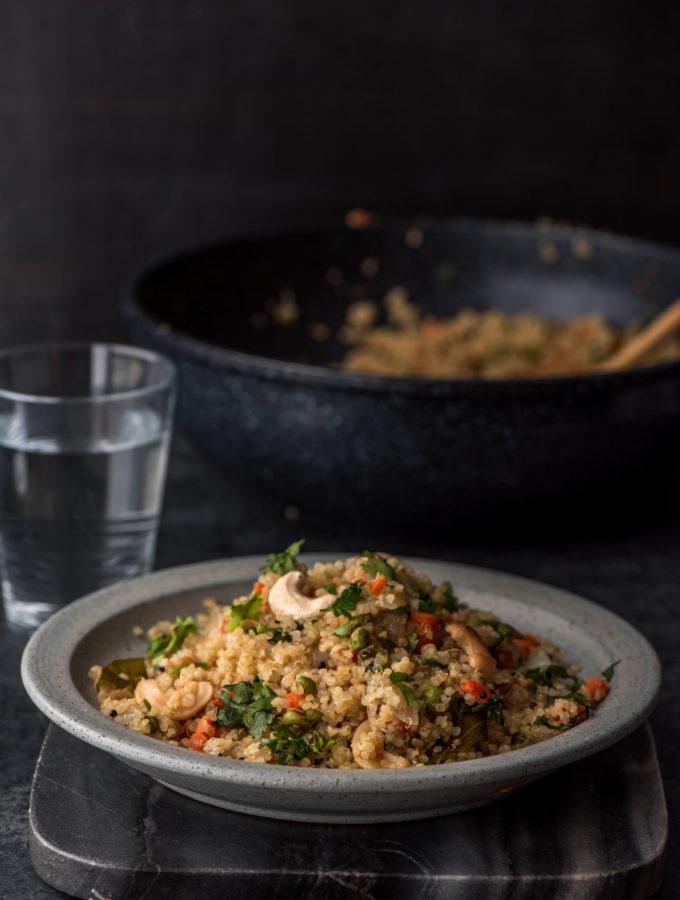 Vegetable Quinoa Pulao