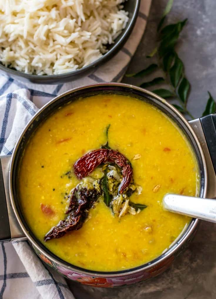 Tadka dal - one pot lentil soup