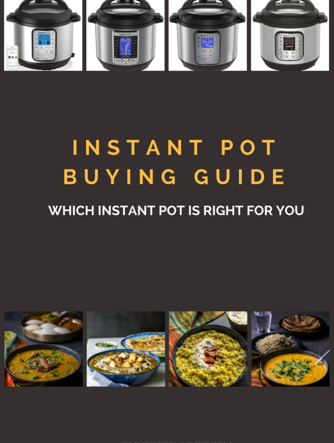 Instant Pot Buying Guide – Which Instant Pot is right for you?