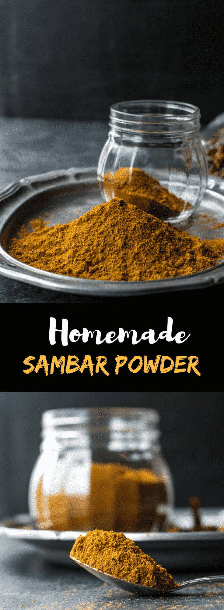 Sambar powder is this aromatic spice blend that transforms ordinary lentil-vegetable dishes into delicious, wholesome stews. Make the recipe today and you'll never buy this spice blend from the store again!