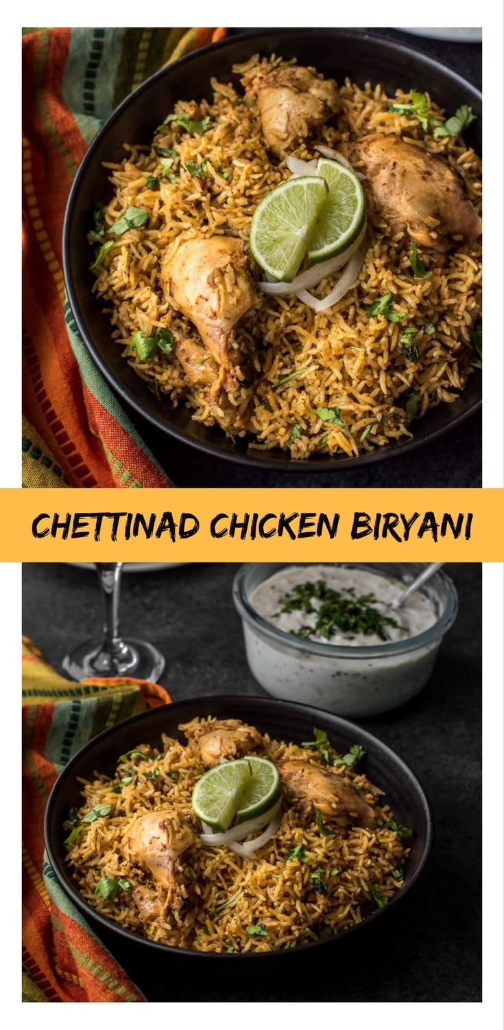 For those who are tired of the same old way of making chicken biryani, you got to try making Chettinad style chicken biryani in an Instant Pot. It is flavorful, spicy and oh so satisfying...just like the traditionally made biryani..but with half the effort.