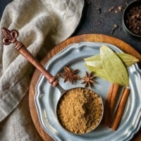 ½ cup measuring cup filled with garam masala