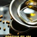 Oil in a bowl