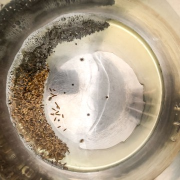 Add jeera, cumin seeds to oil in an Instant Pot