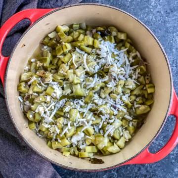 Turiya garnished with grated coconut